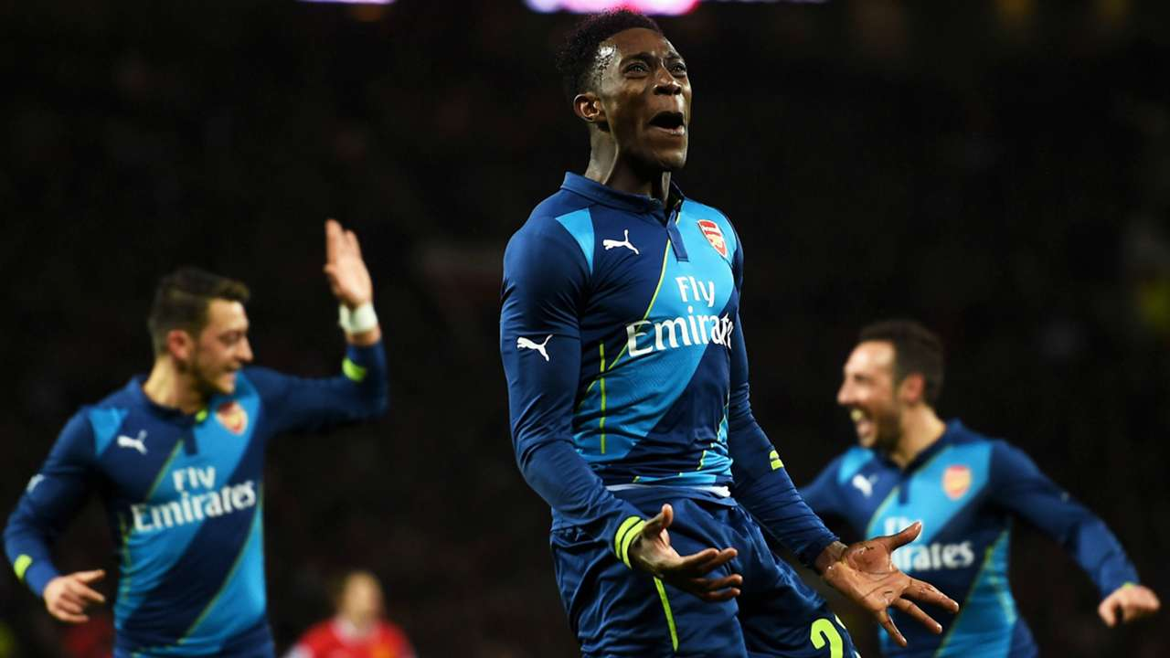 Danny Welbeck Manchester United Arsenal FA Cup 09032015