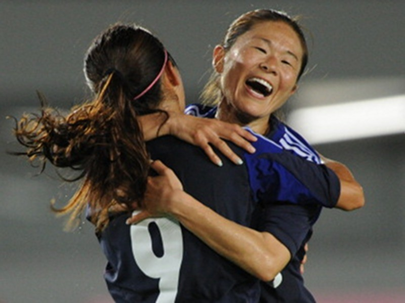 Homare Sawa Japan v Nigeria - Women's International Friendly
