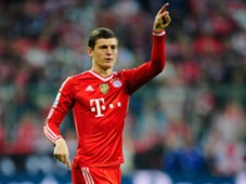Toni Kroos, FC Bayern Munich vs  Borussia Dortmund, 04122014