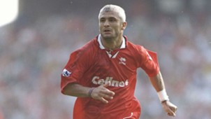 Fabrizio Ravanelli Middlesbrough v Liverpool 170896