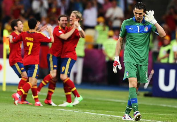 Italy-Spain Euro 2012