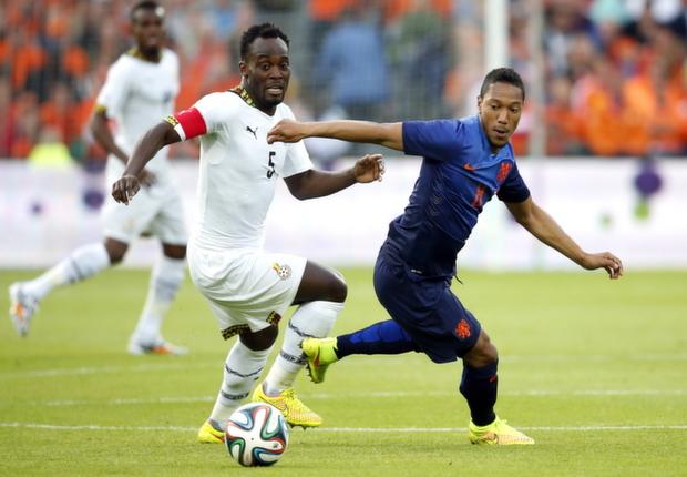 Michael Essien Jonathan De Guzman Netherlands Ghana