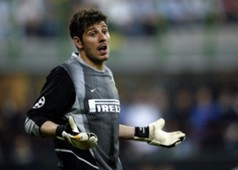Francesco Toldo ai tempi dell'Inter