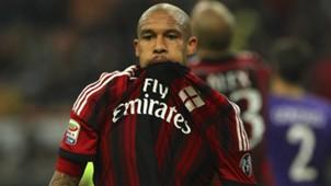 Nigel De Jong AC Milan Serie A 261014