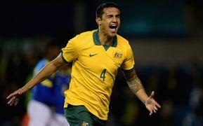 Tim Cahill Australia v Ecuador friendly 140306