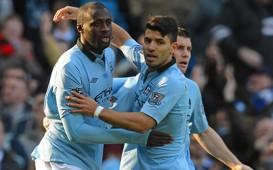 Yaya Toure,Sergio Aguero:Manchester City