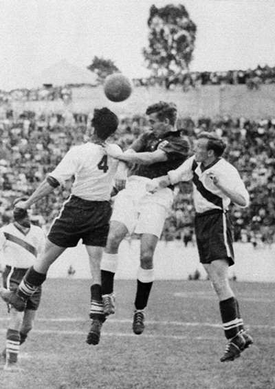 England 0x1 USA 1950