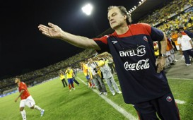 Marcelo Bielsa - Colombia - Chile 10/10/2009