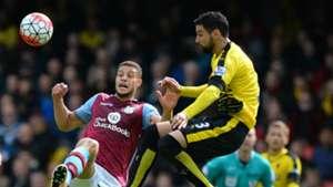 HD Miguel Britos Watford Rudy Gestede Aston Villa Premier League 30042016