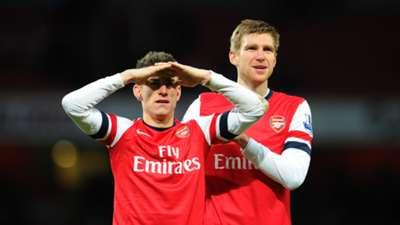 Laurent Koscielny & Per Mertesacker | Arsenal