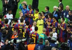 Edwin van der Sar Barcelona Manchester United 2011