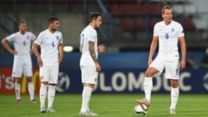 Danny Ings & Harry Kane England U21 - Italy U21 240615