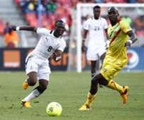 Agyeman Emmanual Badu of Ghana and Mohamed Lamine Sissoko of Mali - Afcon 2013