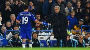 Jose Mourinho & Diego Costa