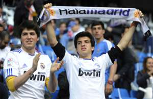 Supporters Real Madrid Bayern Munich Champions League 04232014