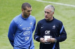 benzema deschamps