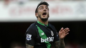 Joselu Arsenal Stoke City Premier League 12092015