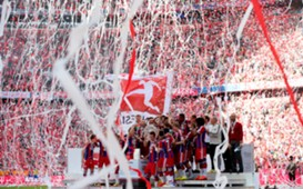 BBayern Munchen title celebration 05102014
