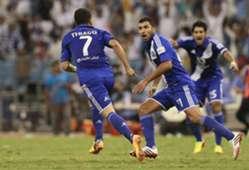 Thiago Neves Adel hermach and joy goal in al ittihad