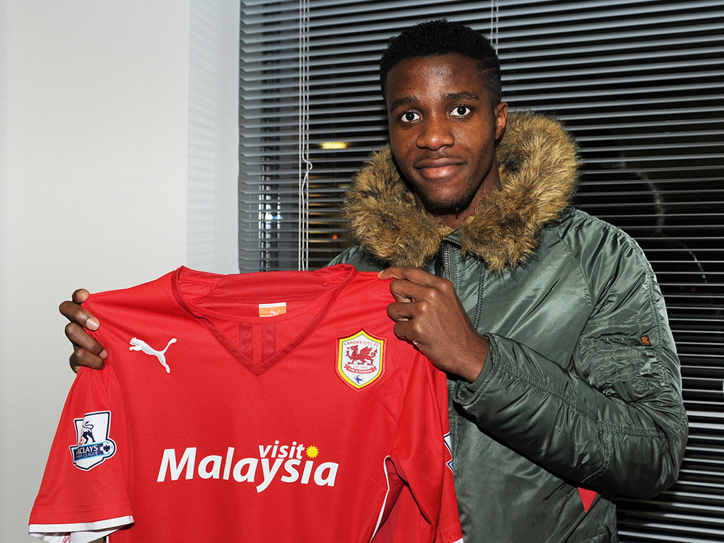 Wilfried Zaha Cardiff City Signing Transfer Window