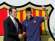 Sandro Rosell Neymar FC Barcelona 06032013