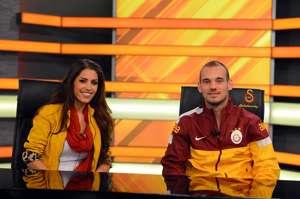 Yolanthe Cabau - Wesley Sneijder (Galatasaray)