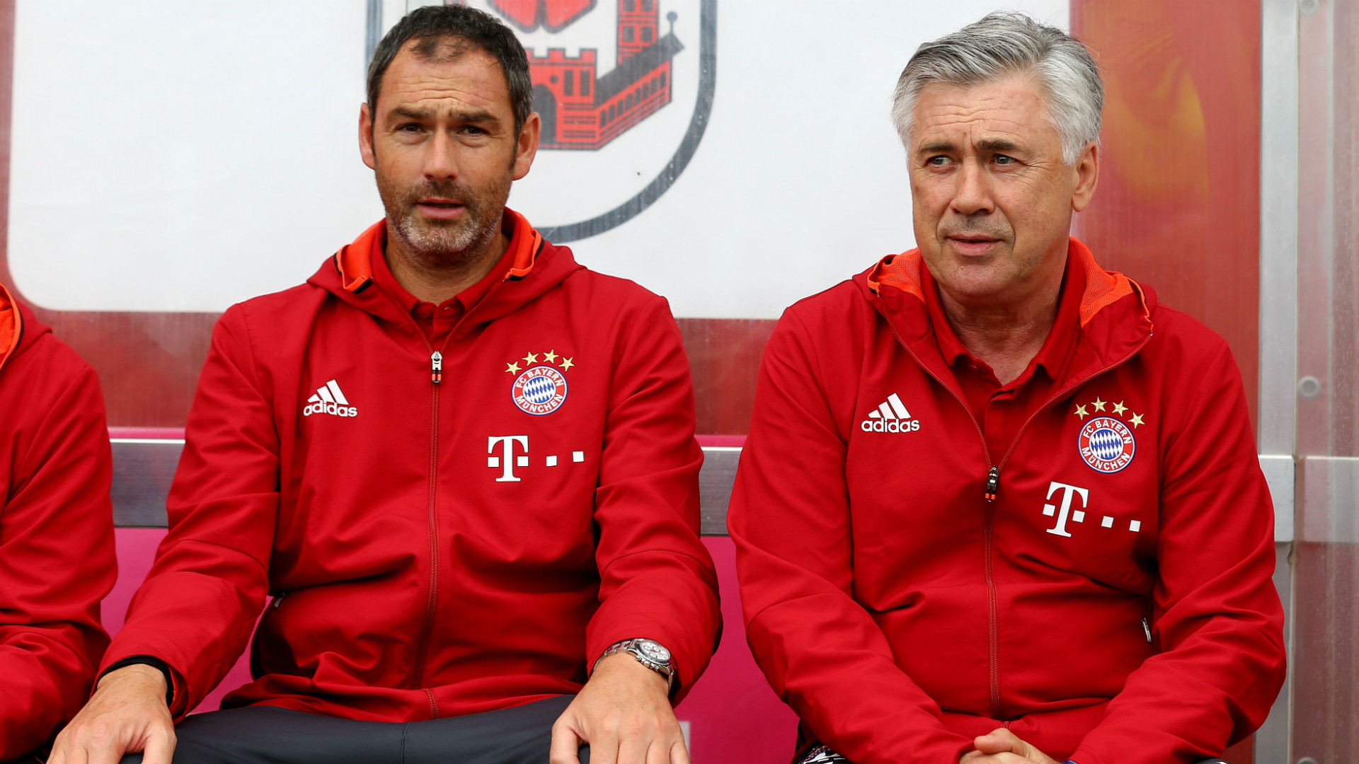 Paul Clement Carlo Ancelotti Bayern Munich Pre-Season