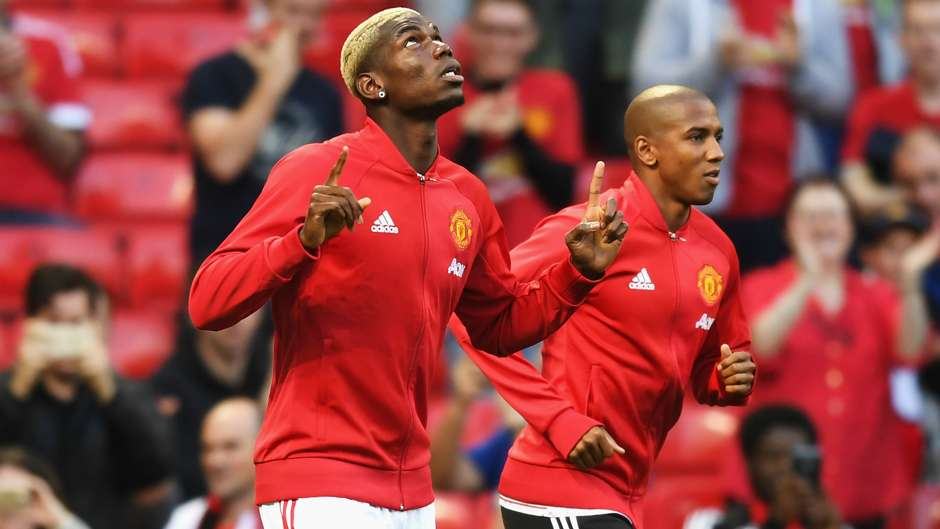 Paul Pogba Manchester United Premier League