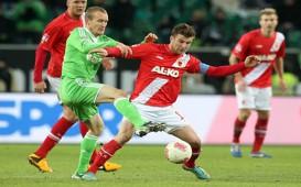 FC Augsburg - VfL Wolfsburg, Daniel Baier - Thomas Kahlenberg