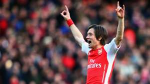 Tomas Rosicky Arsenal Premier League