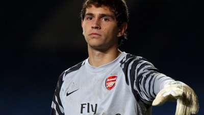 Emiliano Martinez Arsenal FA Youth Cup 20 January 2011