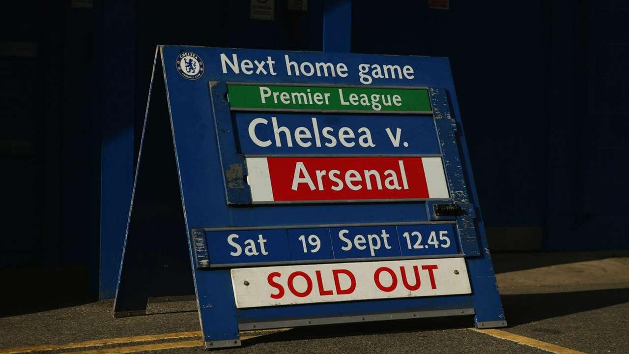 Stamford Bridge ahead of Chelsea - Arsenal