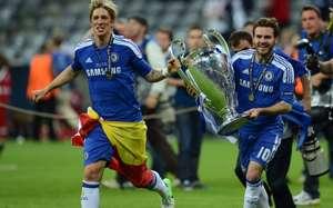 Fernando Torres Juan Mata Chelsea Bayern Champions League 19052012