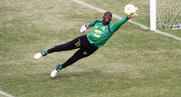 Goalkeeper Nkosingiphile Gumede of Golden Arrows