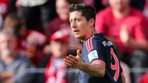 Robert Lewandowski Bayern Munich Bundesliga 26092015