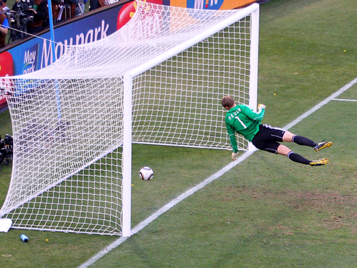 Neuer England v Germany world cup 2010