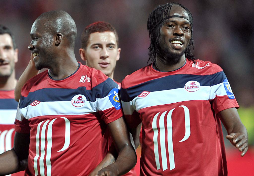 Moussa Sow Eden Hazard Gervinho Lille 2011
