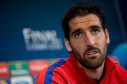 Atletico Madrid midfielder Raul Garcia