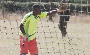 Ulinzi Stars goalkeeper and coach Francis Onyiso