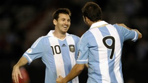 HD Messi and Higuain 2011 Chile