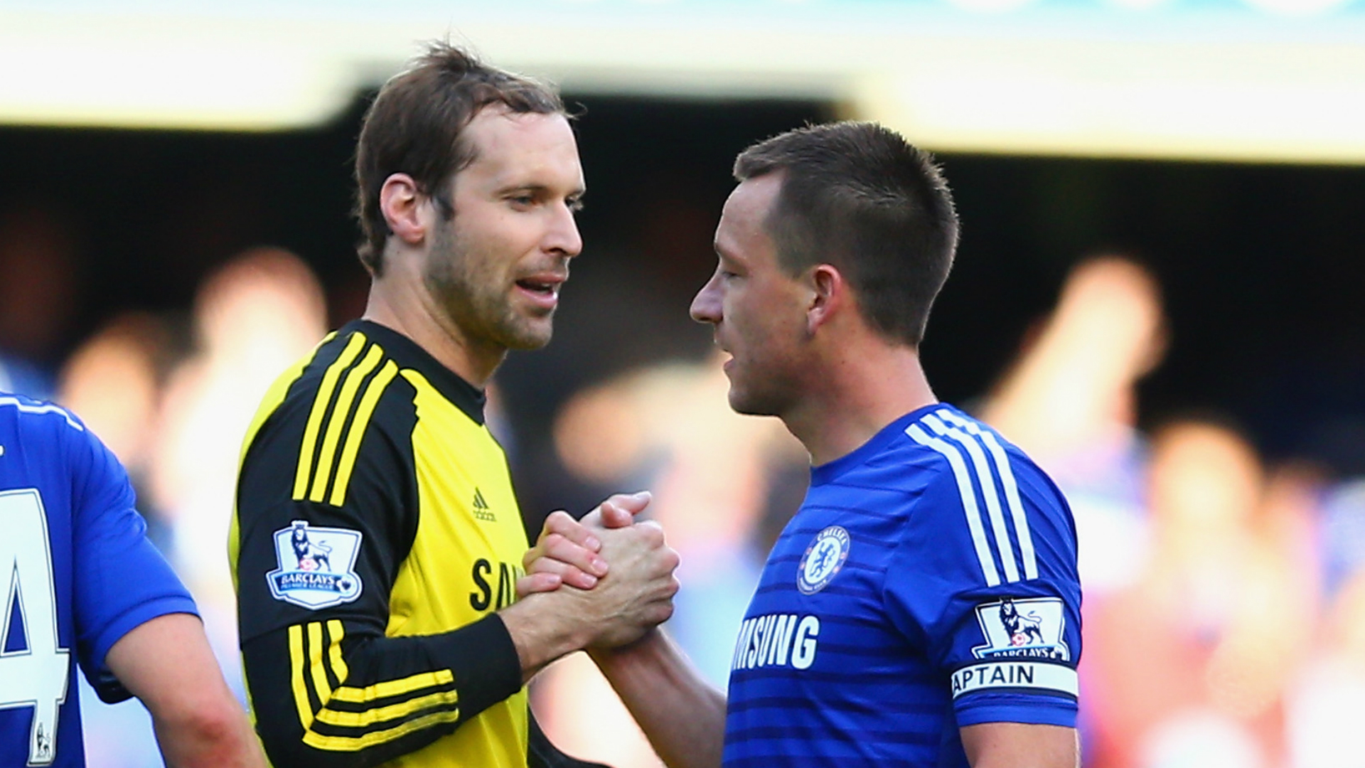 Petr Cech; John Terry Chelsea