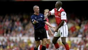 Roy Keane Patrick Viera Manchester United Arsenal Premier League 220899