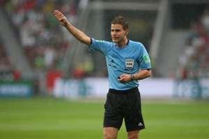Bundesliga and FIFA referee Dr. Felix Brych