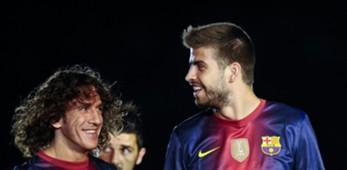 Carles Puyol & Gerard Pique - FC Barcelona