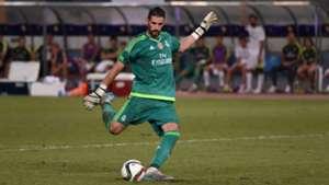 Kiko Casilla Real Madrid AC Milan 30072015