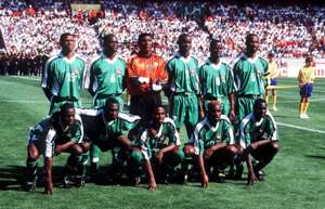 Nigeria 1998 World Cup