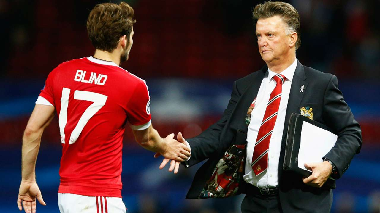 Daley Blind Louis van Gaal Manchester United
