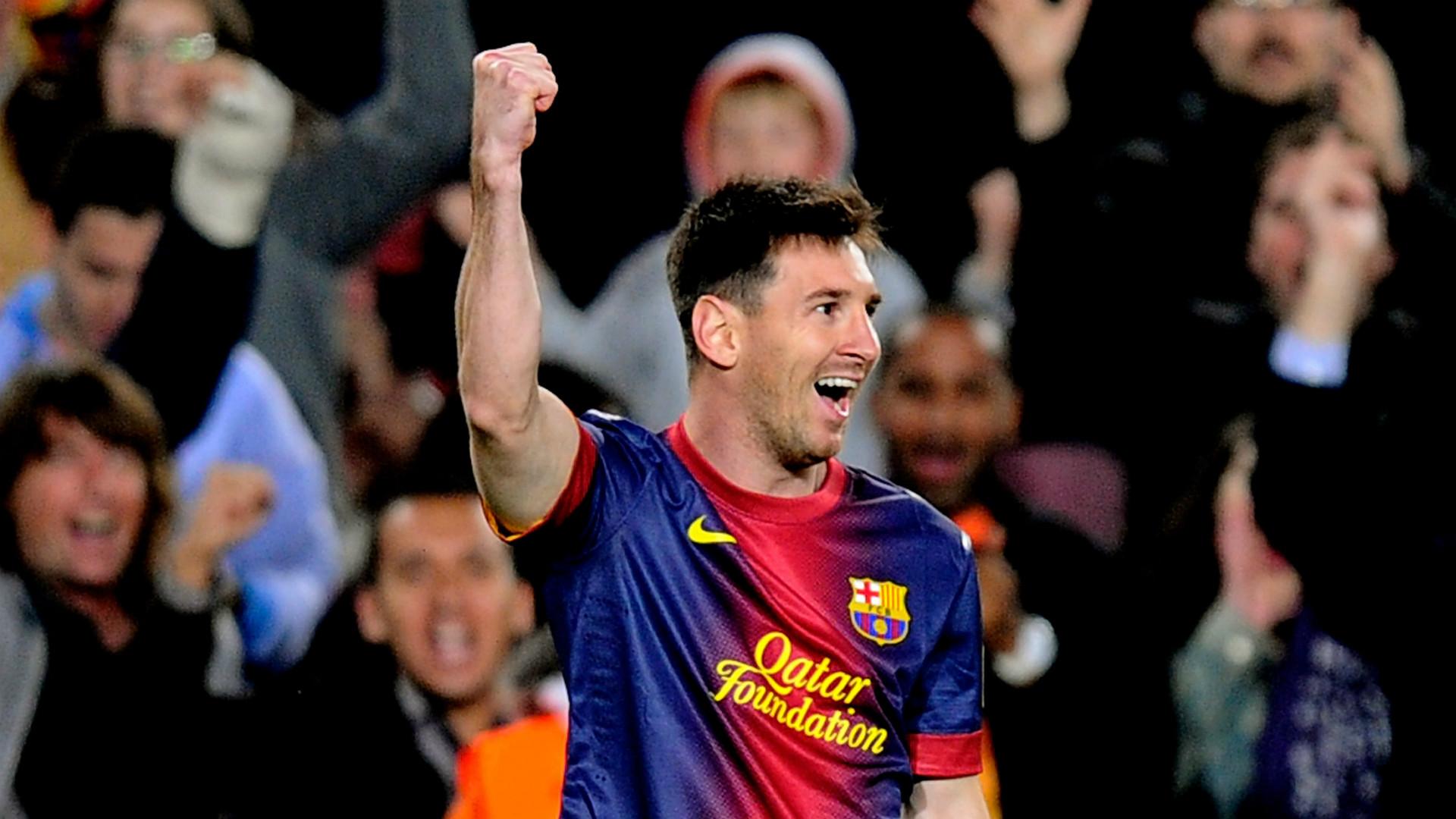Messi, máximo goleador histórico en activo de la Copa del Rey