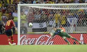 Sergio Ramos, penalti de España ante Italia; Copa Confederaciones