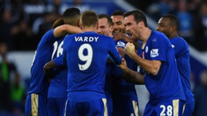 HD Leicester City celebrate Watford